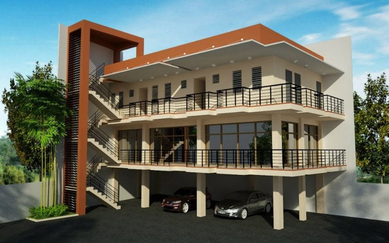 Apartment building designs philippines ofw business ideas for Apartment exterior design philippines