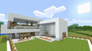 Minecraft aided house design » Elizabeth Construction